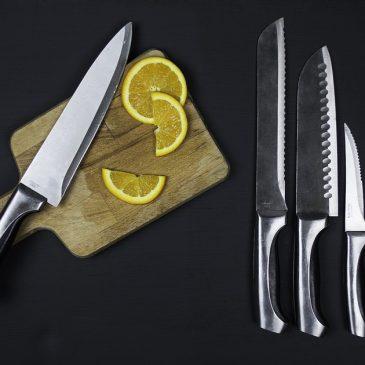 5 rodzajów noży do 5 zadań